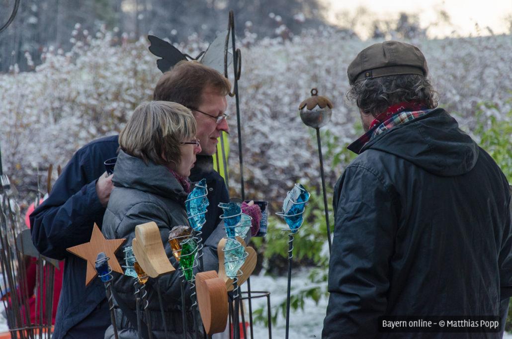 Impressionen vom Weihnachtsmarkt 2015 - Preuschens in Hundeboden in der Fränkischen Schweiz