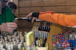 Impressionen vom Weihnachtsmarkt der Brennerei Erlwein - Preschens in Hundeboden in der Fränkischen Schweiz