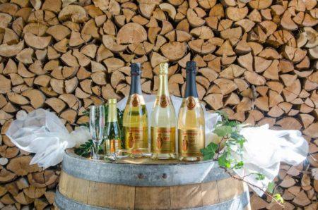 Charlemagner aus der Fränkischen Schweiz. Fruchtiger, feinperliger Sekt nach Champagnerverfahren hergestellt- aus den Äpfeln unserer Streuobstwiesen.